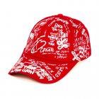 Бейсболка Dad Create etc Beani'qe One sizе Красный (25048) - изображение 2