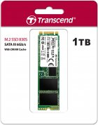 Transcend SSD MTS830S 1TB M.2 SATA SATA III 3D-NAND TLC (TS1TMTS830S) - зображення 2