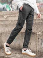 Штани спортивні чоловічі BERSENSE SPIYDER трикотаж темно-сірі, M - изображение 2