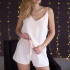 Пижама женская с шортами (майка + шорты) Mito Soft-Touch 44 (S) Персик - изображение 1