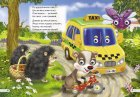 "Комплект із 3 книг-картонок з трьома парами ""оченят"". Лисичка-сестричка і сірий вовк, Рукавичка, Транспорт (9789664691182) - изображение 4"