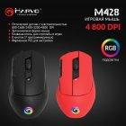 Мышь Marvo M428 RGB USB Red (M428.RD) - изображение 6