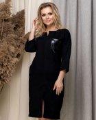 Платье ELFBERG 5169 54 Черное (2000000372518) - изображение 1