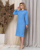 Платье ELFBERG 5186 56 Голубое (2000000376691) - изображение 3