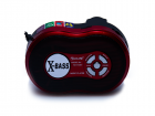 Акустична система радіоприймач портативна колонка з радіо акумуляторна з функцією Bluetooth USB SD Ліхтарик Червона Golon (RX-143BT) - зображення 2