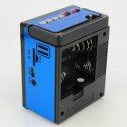 Аккумуляторный радиоприёмник колонка с USB SD фонариком, цифровым FM тюнером Синий NNS (NS-904U) - изображение 2