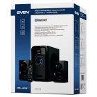 Акустична система ( колонки ) SVEN MS-2051 (black) 2.1 30W Woofer + 2*12,5 speaker, BT, FM, SD, USB, LED (17492) - зображення 8