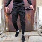 Брюки карго мужские Over Drive Scarstrope черные XL - изображение 7