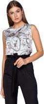 Блузка Jadone Fashion Фиона S (42) Голубая (ROZ6400002301) - изображение 1