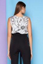 Блузка Jadone Fashion Фиона S (42) Голубая (ROZ6400002301) - изображение 3