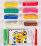 Набор теста для лепки Lovin'Do Ассорти 9 цветов Арома + Ассорти 4 цвета с глиттером 20 г + 4 цвета Неон 20 г (41081) - изображение 3