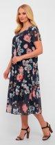 Платье VLAVI Катаисс 1193215 52 Синее (11932152) - изображение 5