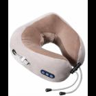 Массажная подушка для шеи U-Shaped Massage Pillow NEW роликовый массажер Бежевая - изображение 1