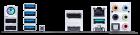 Материнська плата Asus TUF Gaming B550M-Plus (sAM4, AMD B550, PCI-Ex16) - зображення 4