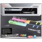 Модуль памяти для компьютера DDR4 16GB (2x8GB) 3000 MHz TridentZ RGB Black G.Skill (F4-3000C16D-16GTZR) - изображение 2