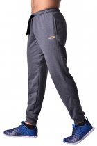 Чоловічі спортивні штани, завужені з бавовни з кишенями Berserk Sport Premium dark grey P0026D L 2275900000018 - зображення 2