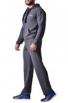 Мужские спортивные штаны из хлопка с карманами Berserk Sport Pragmatic dark grey P5196G XL 2268710000040 - изображение 4