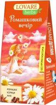 Упаковка чая Lovare цветочного со специями Ромашковый вечер 2 пачки по 20 пирамидок (2000006781154) - изображение 2