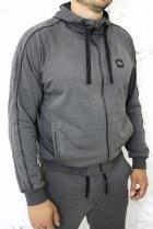 Спортивний костюм Free Agent new канти ІК брюки прямі 4XL Сірий - зображення 6