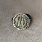 """Бронзова монетка оракул """"Yes/No"""" ручна робота 1055А - зображення 2"""