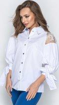 Блузка Dressa 20750 48 Біла (2000005194498) - зображення 3