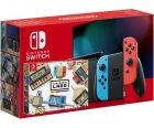 Nintendo Switch Neon Blue-Red (Upgraded version) + Nintendo Labo: Variety Kit - зображення 1