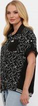 Рубашка VLAVI Белинда 128001 58 Черная (12800158) - изображение 3
