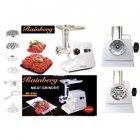 Мясорубка-соковыжималка электрическая комбайн Rainberg RB6304 с реверсом 2200W Белая - изображение 2