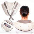 Ударный Вибромассажер для спины плеч и шеи Cervical Massage Shawls - изображение 6