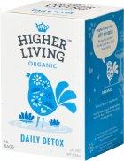 Чай Higher Living травяной органический Daily Detox 15 пакетиков (5060319129422) - изображение 1