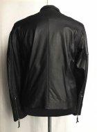 Куртка из натуральной кожи Belyaev Косуха 23 50 чёрная - изображение 3