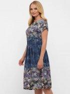 Платье VLAVI Лорен 1189240 50 Акварель Синее (11892400) - изображение 2