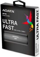 ADATA SE760 512GB USB 3.2 Type-C 3D NAND TLC Titanium Gray (ASE760-512GU32G2-CTI) External - изображение 6