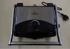 Гриль електричний контактний притискної Crownberg CB-1067 з антипригарним покриттям 1500W Black/Silver - зображення 7