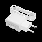Зарядное устройство LP АС-013 USB 5V 2.4A + кабель Type-C/ОЕМ 2 м White - изображение 1