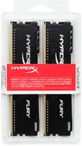Оперативная память HyperX DDR4-2400 32768MB PC4-19200 (Kit of 2x16384) Fury Black (HX424C15FB4K2/32) - изображение 4
