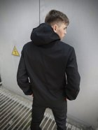 Мужской костюм Intruder Softshell Light демисезонный (Куртка мужская + штаны) черный XXL - изображение 3