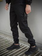 Мужской костюм Intruder Softshell Light демисезонный (Куртка мужская + штаны) черный XXL - изображение 4