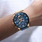 Наручний годинник AlexMosh чоловічі Curren Blue-Cuprum (1025) - зображення 2