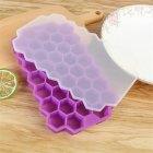 Силиконовая форма для льда с крышкой Kami Соты для льда сока арт 36397 - изображение 1