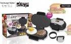 Гриль котлетница для приготування гамбургерів DSP KC1124 750W Black - зображення 1