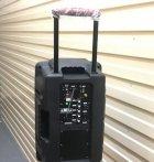 Колонка на аккумуляторе с беспроводным микрофоном Ailiang UF-1018 /100W (USB/Bluetooth/FM) - изображение 4