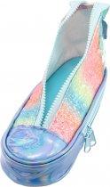 Пенал в виде кеда Cool For School с блестками 2 отделения Голубой (5986-blue) - изображение 3