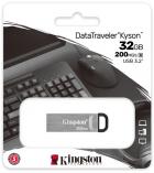 Kingston DataTraveler Kyson 32GB USB 3.2 Silver/Black (DTKN/32GB) - изображение 4