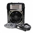 Радіоприймач GOLON RX-9133 і Ліхтар LED Коричневий - зображення 3