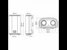 Бойлер электрический Arti WH FLAT E 80L/2 - зображення 4
