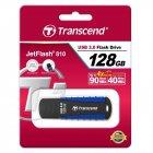 Флеш-накопитель USB3.0 128GB Transcend JetFlash 810 Blue (TS128GJF810) - изображение 2