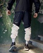Спортивные штаны Пушка Огонь Dex черные с рефлективом XS - изображение 2