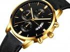 Часы Cuena Кварцевые мужские Type G Золотой (1007-666-06) - изображение 2