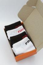 Набор носков Cool Socks 50364 44-46 4 пары Белый/Черный (ROZ6400015331) - изображение 1